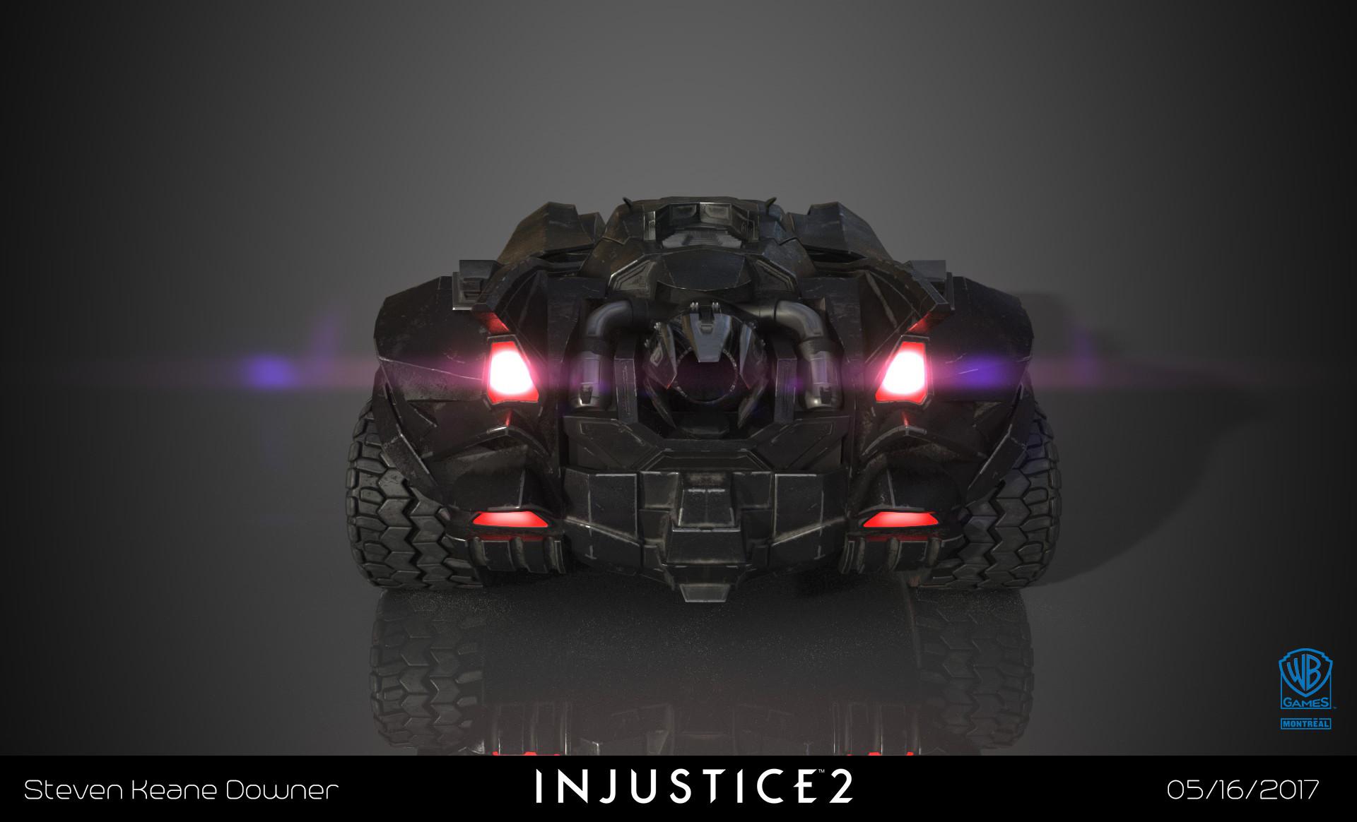 Steven Downer Injustice 2 Batmobile Cinematics