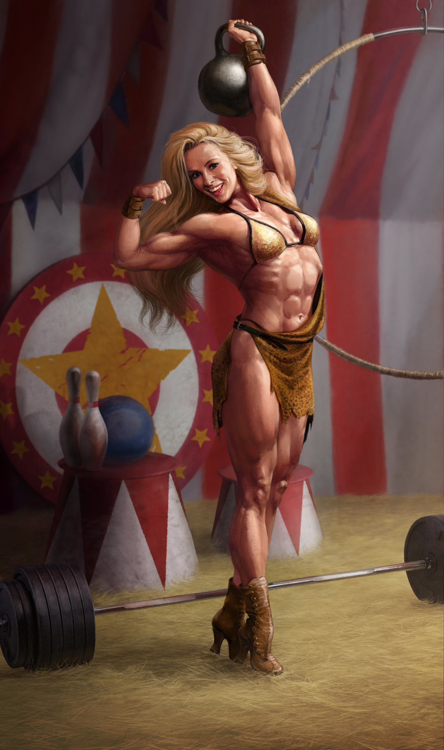 Circus Strong Women deviantART