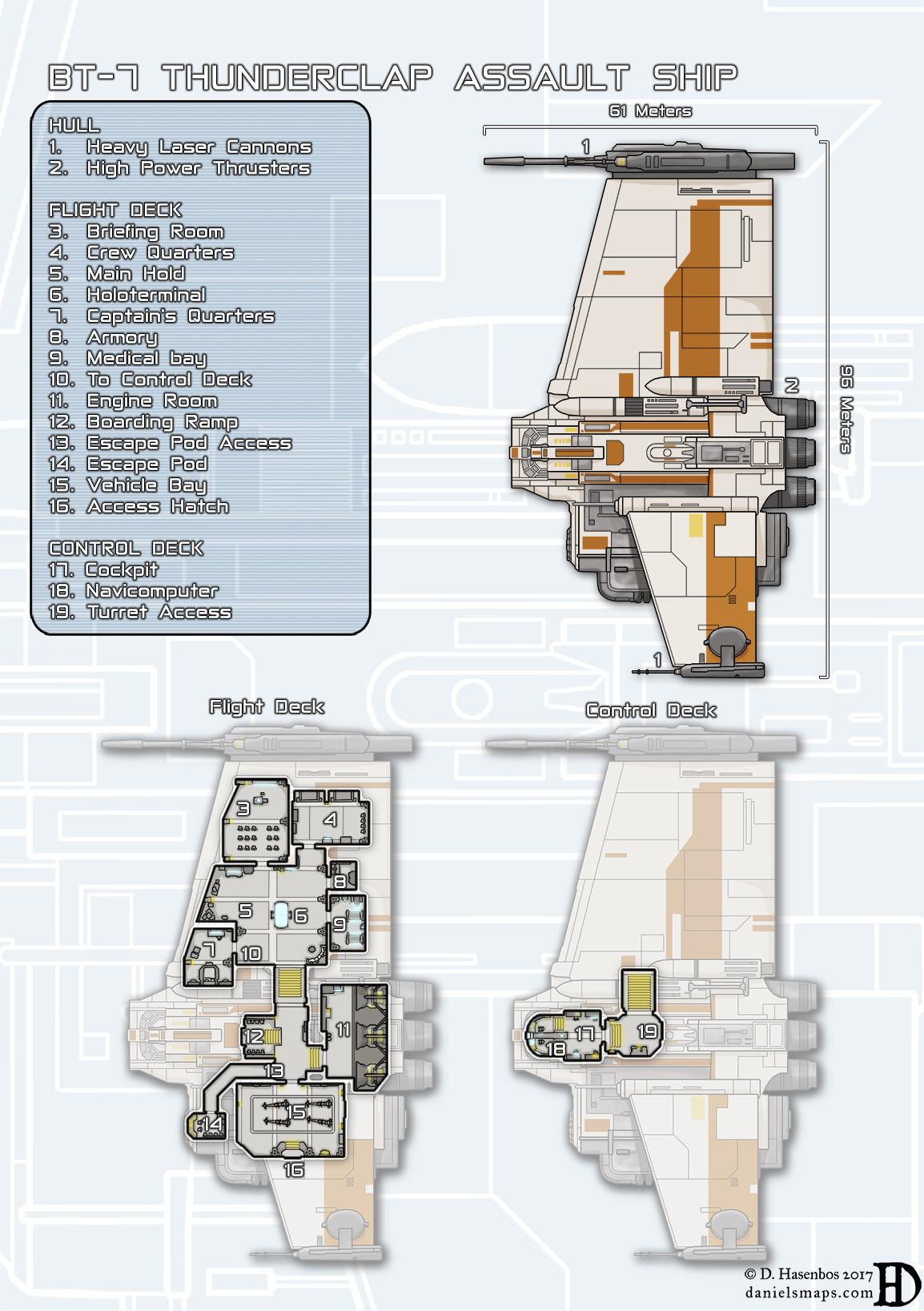 small resolution of bt 7 thunderclap assault ship