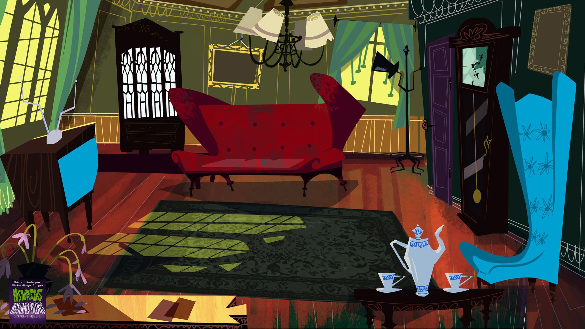 ArtStation  Haunted Tales for Wicked Kids  Cartoon