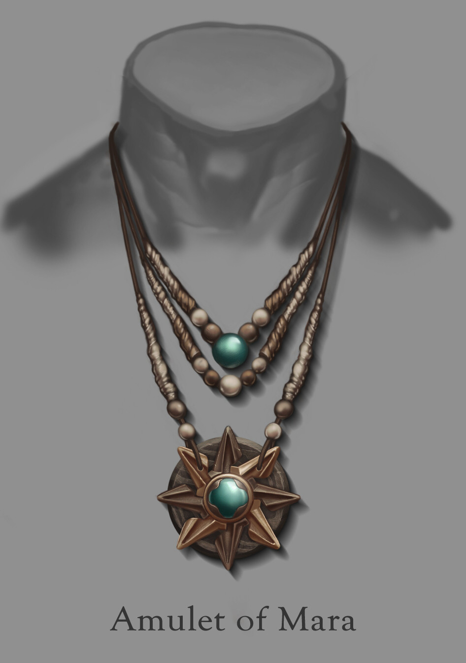 artstation amulet of mara