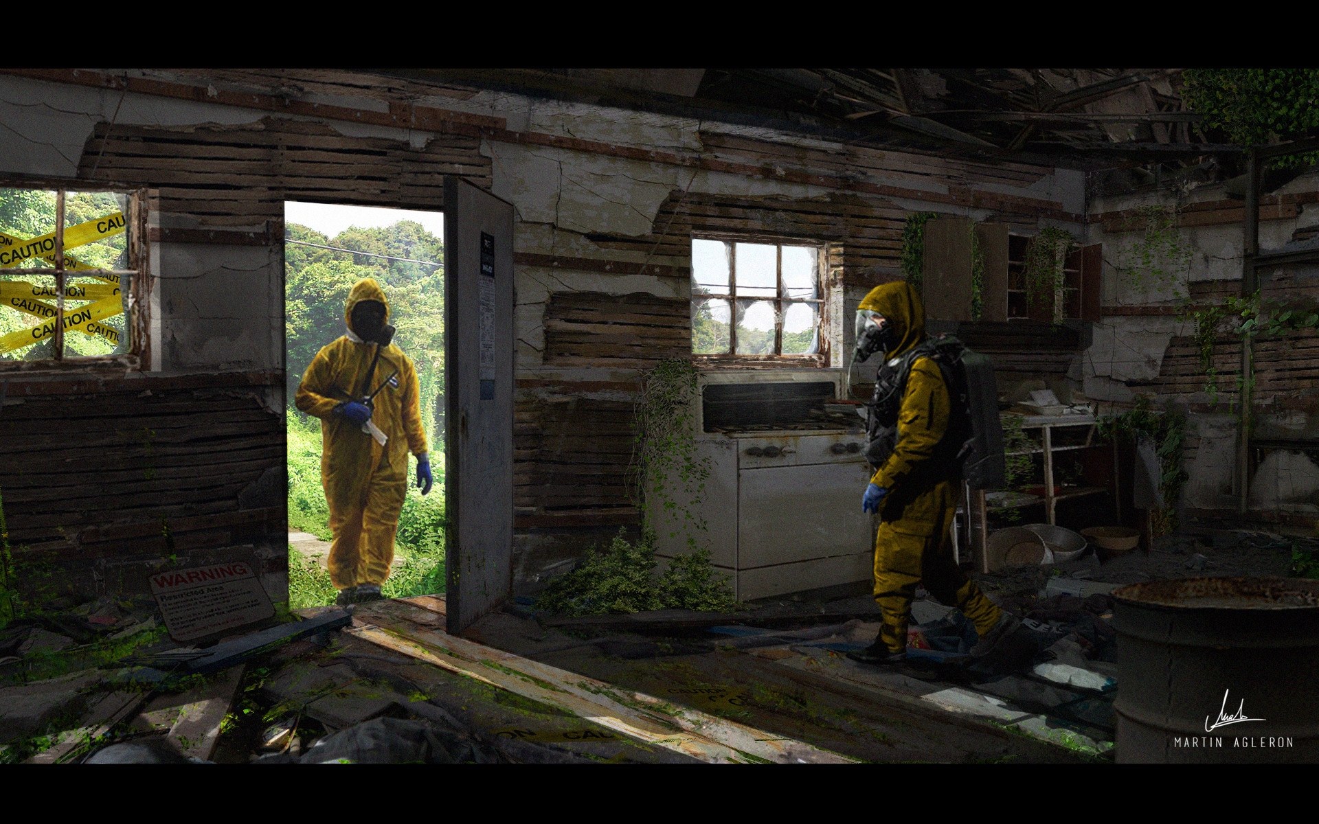 Artstation - Quarantine Zone Martin Lawrence Agleron