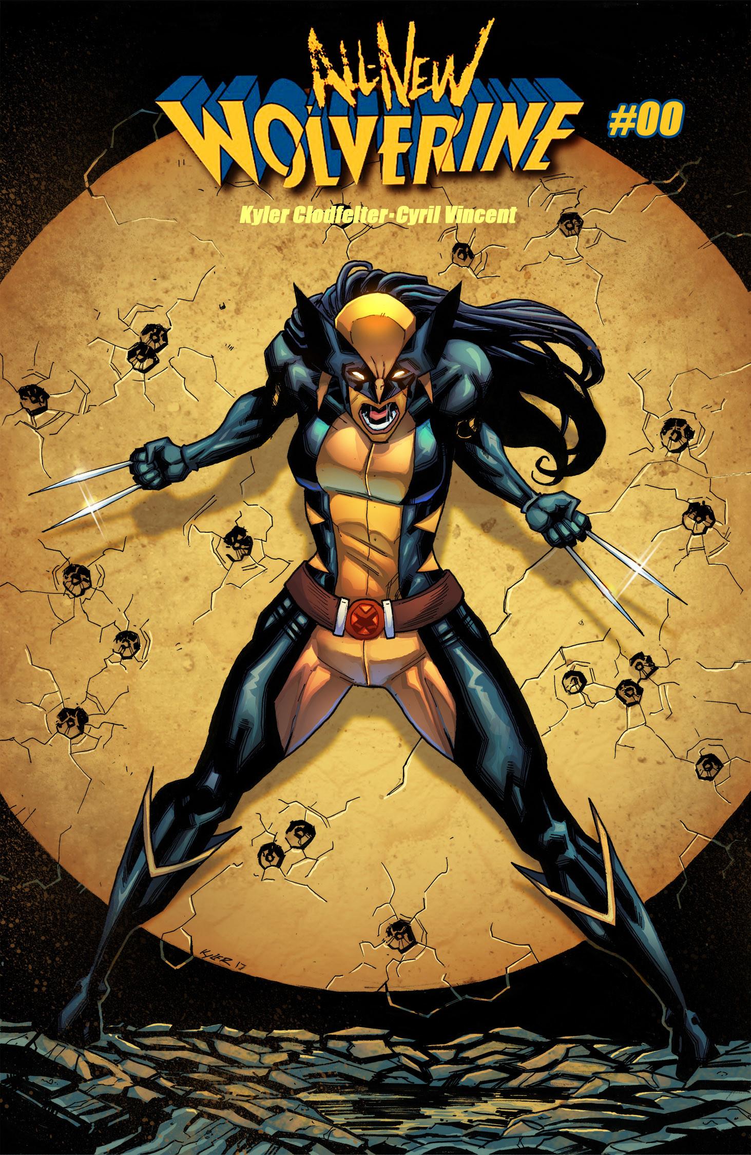 ArtStation  All New Wolverine Cover Fanart Cyril Vincent
