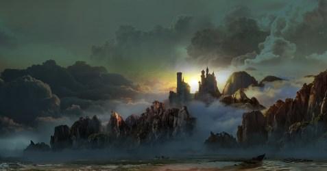 fantasy palace artstation artwork