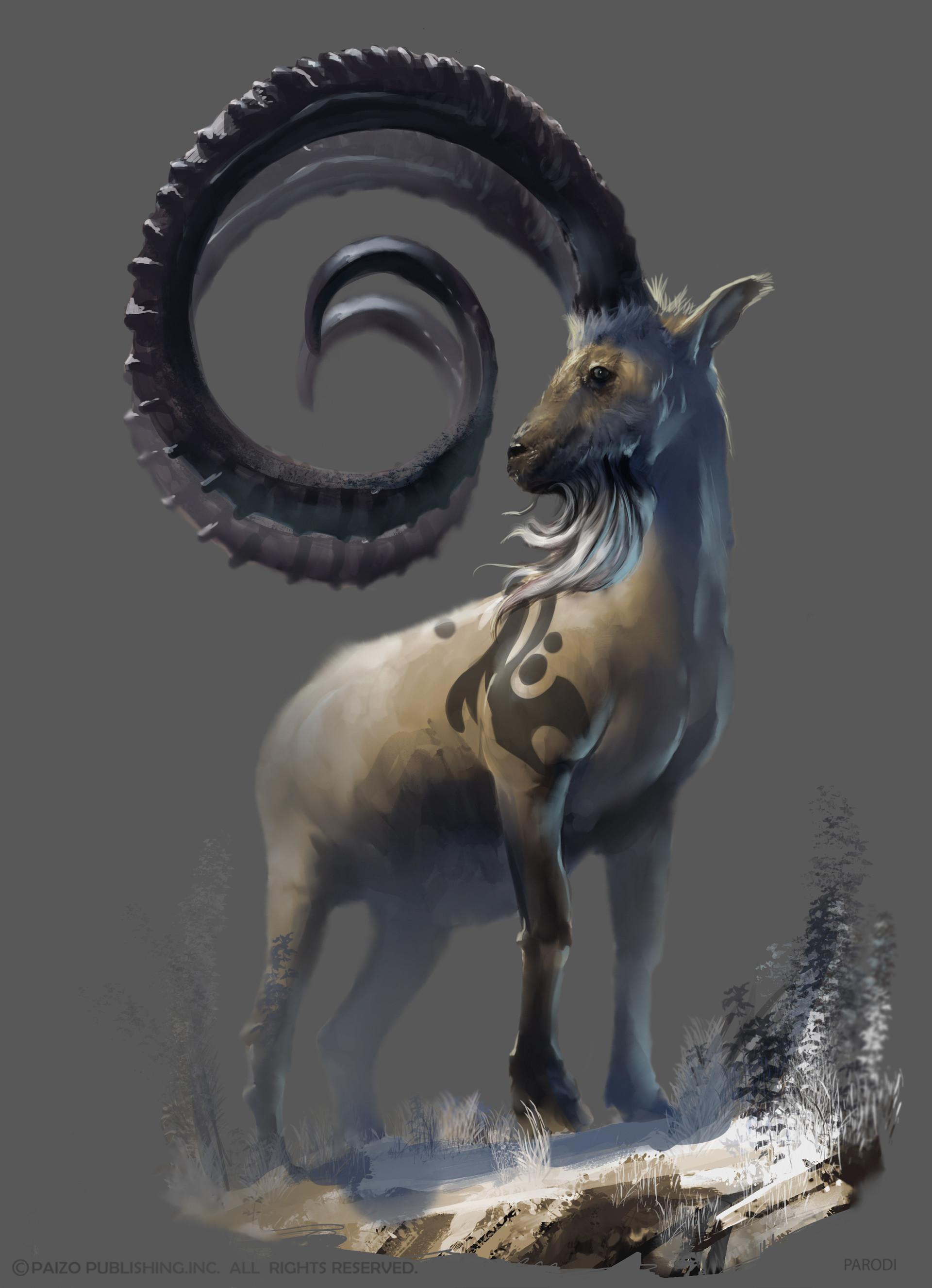 Pathfinder Animal Companion Wolf - Exploring Mars