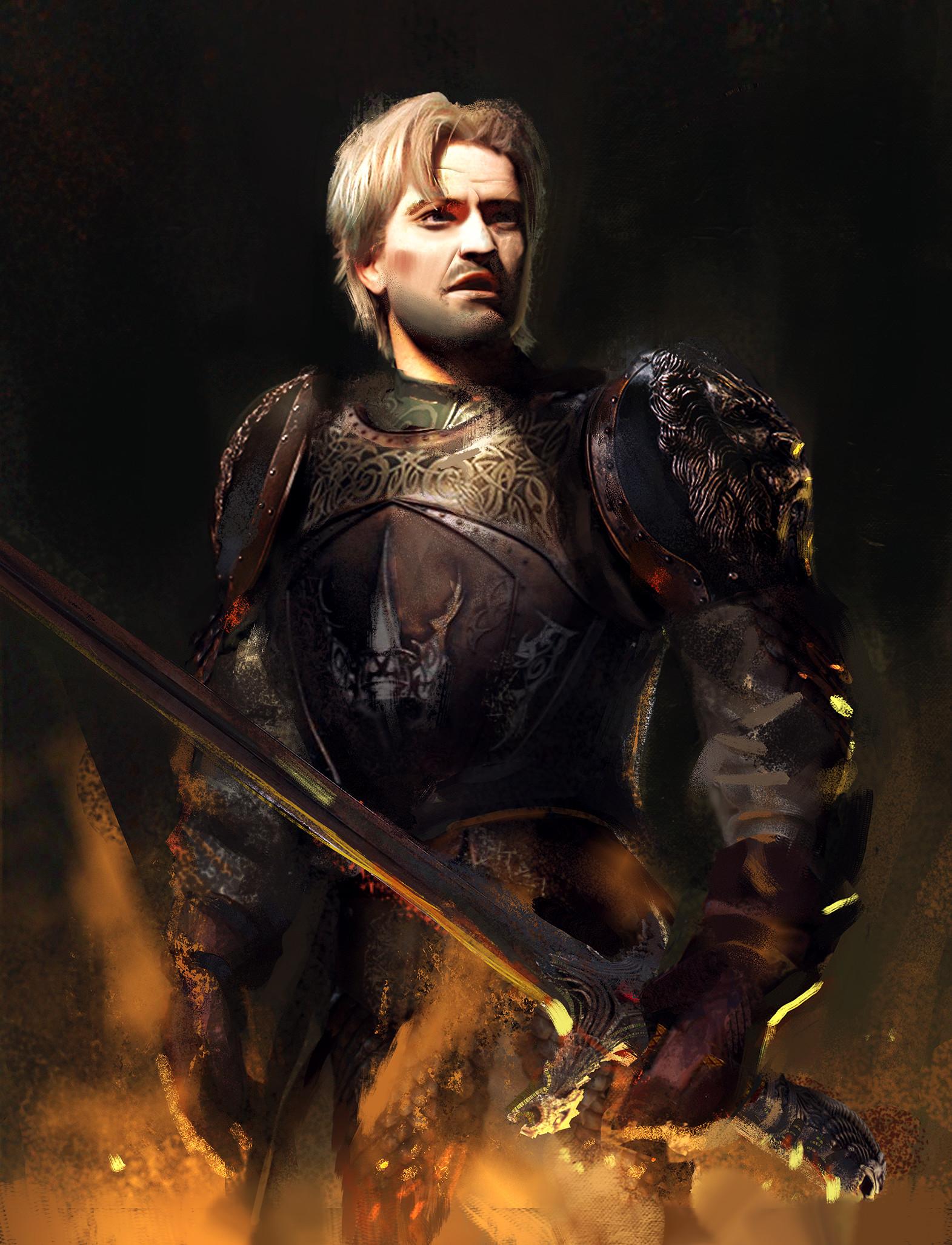 ArtStation Jaime Lannister Fan Art Marta Danecka