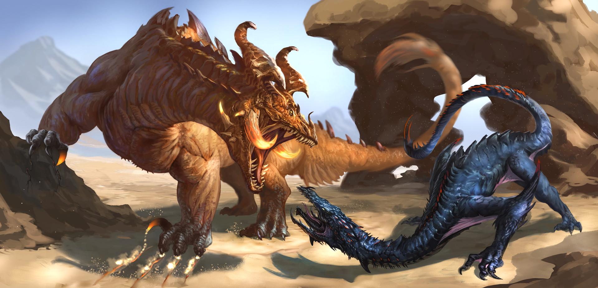 Earth Dragon Deathstalker Dave Melvin Imaginarydragons