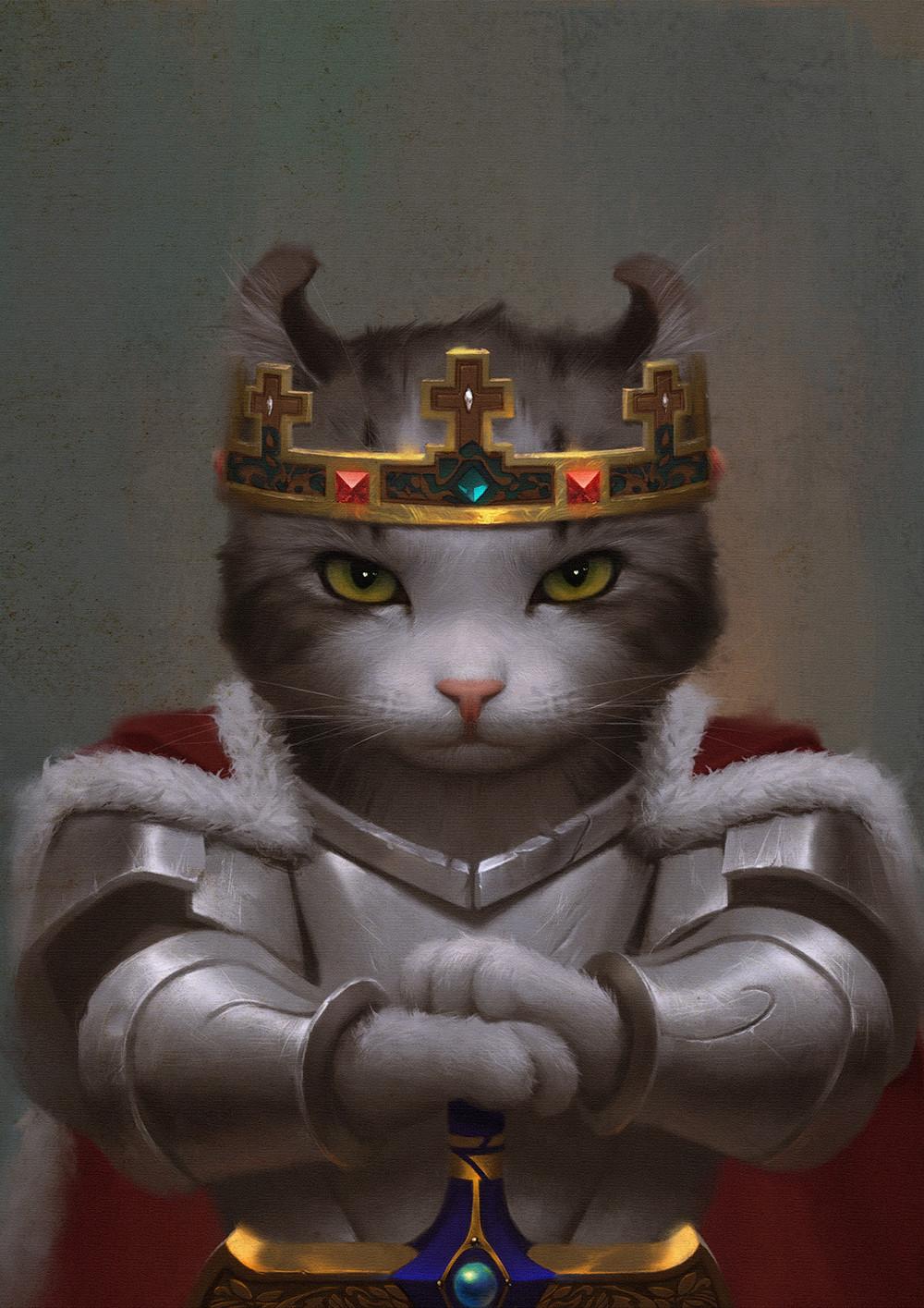 Weiss hunt  King Arthur cat