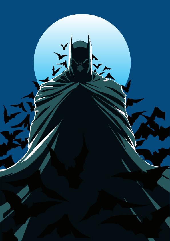 artstation batman vector mirella