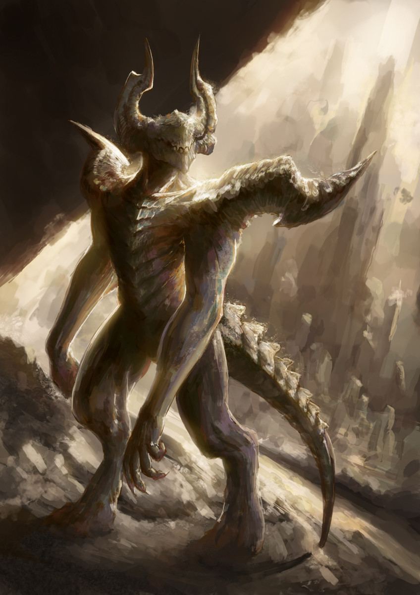Demon Creature Concept Art
