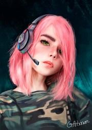 pink giorgi magradze artman digital