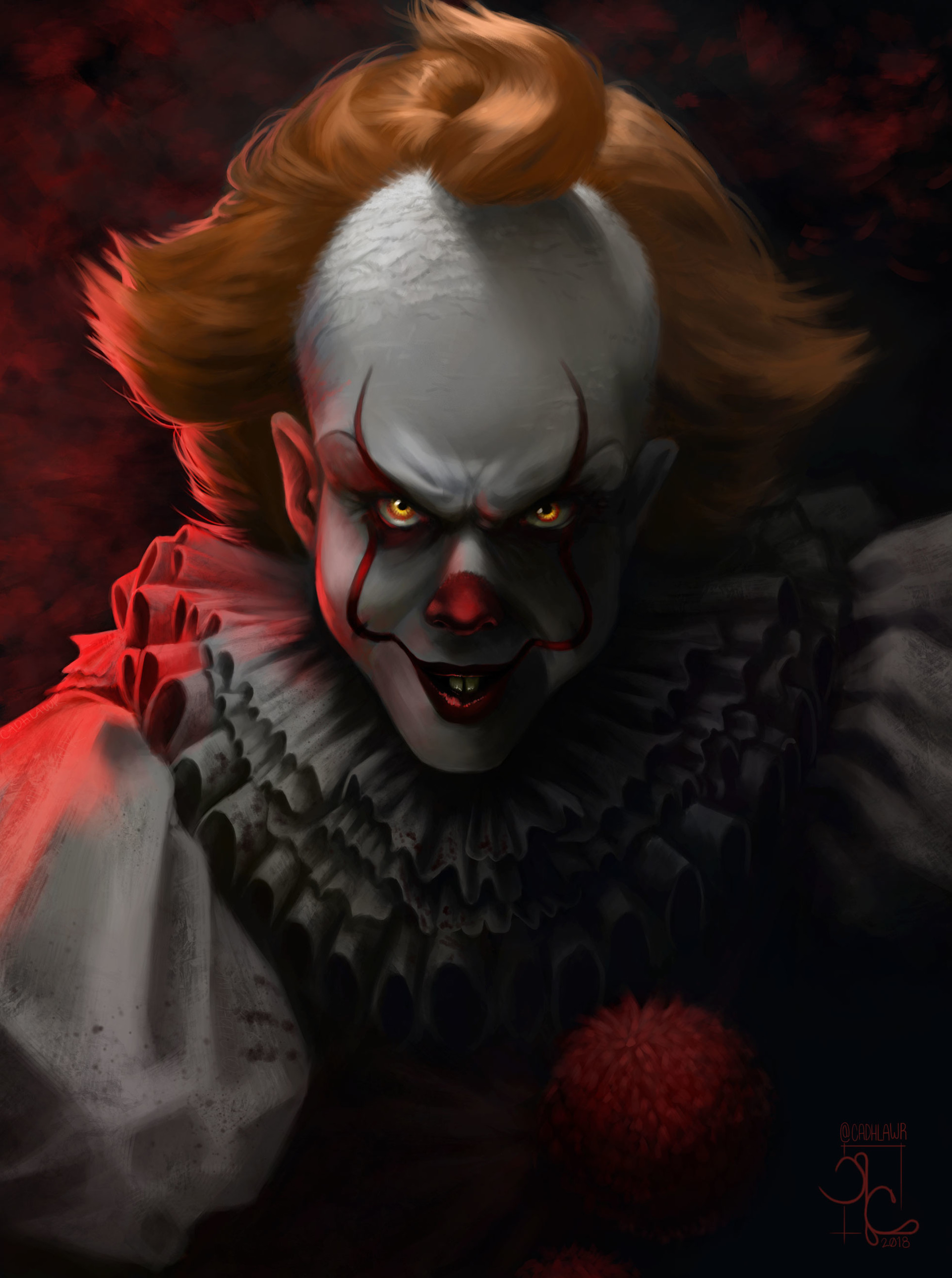 artstation pennywise the dancing