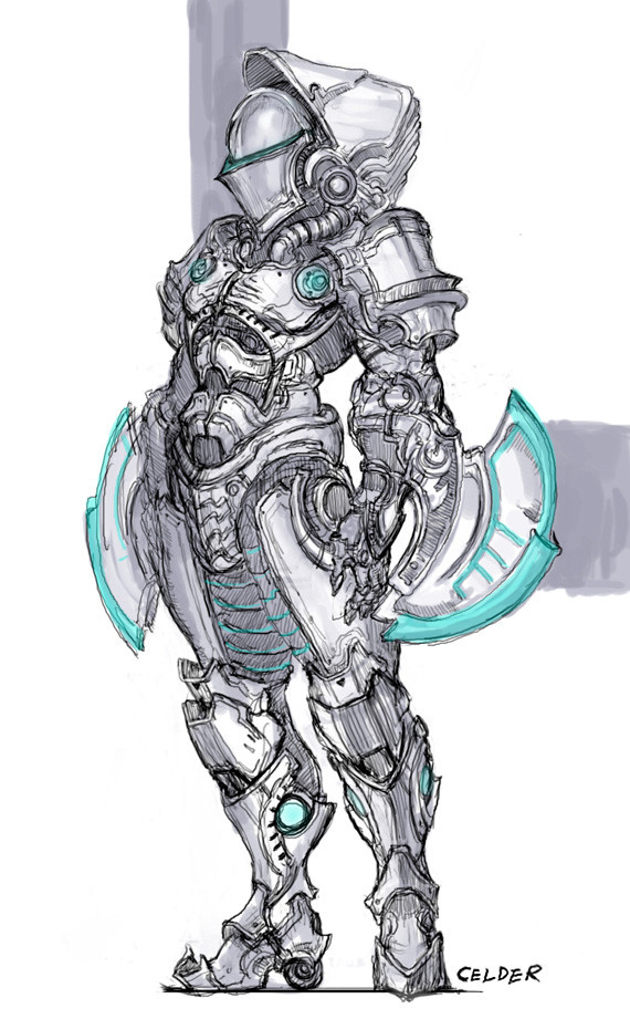 Drawing Of Armor : drawing, armor, Celder, Armor, Drawing