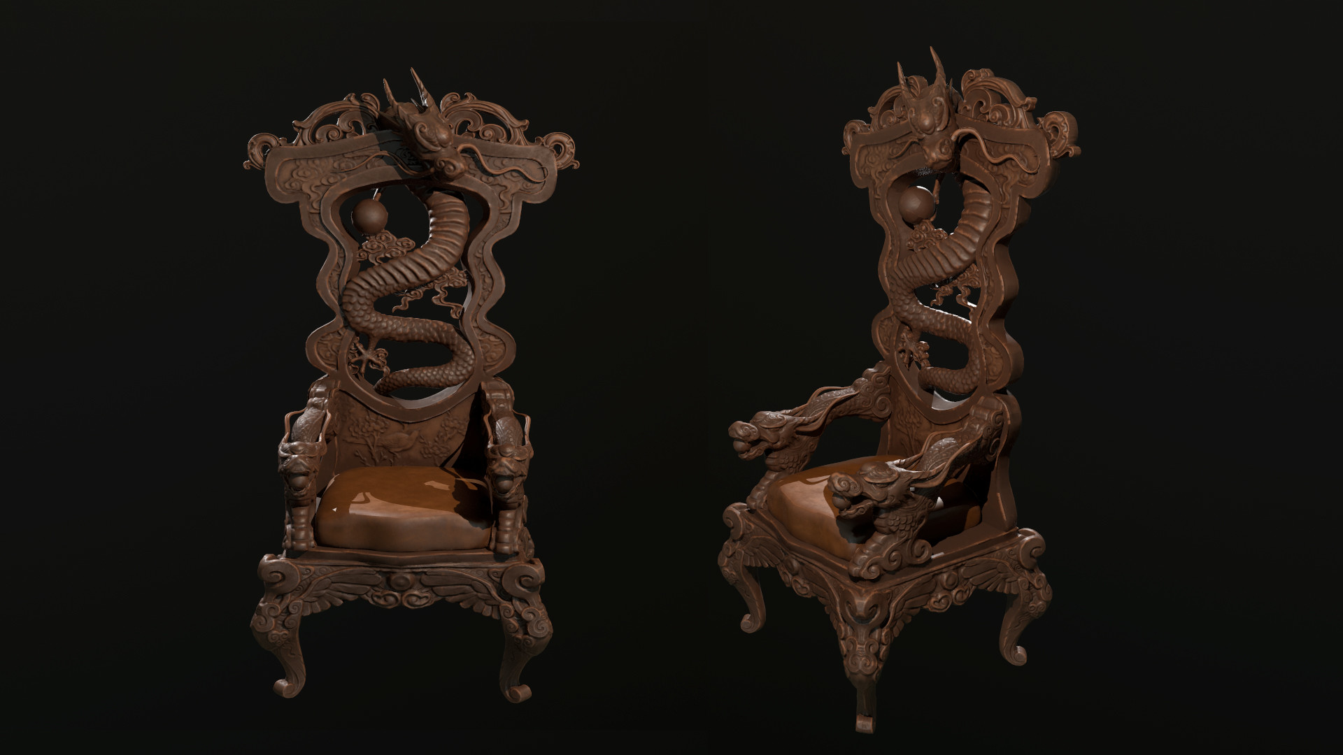 Dragon Chair Coco Rui Zhan Dragon Chair