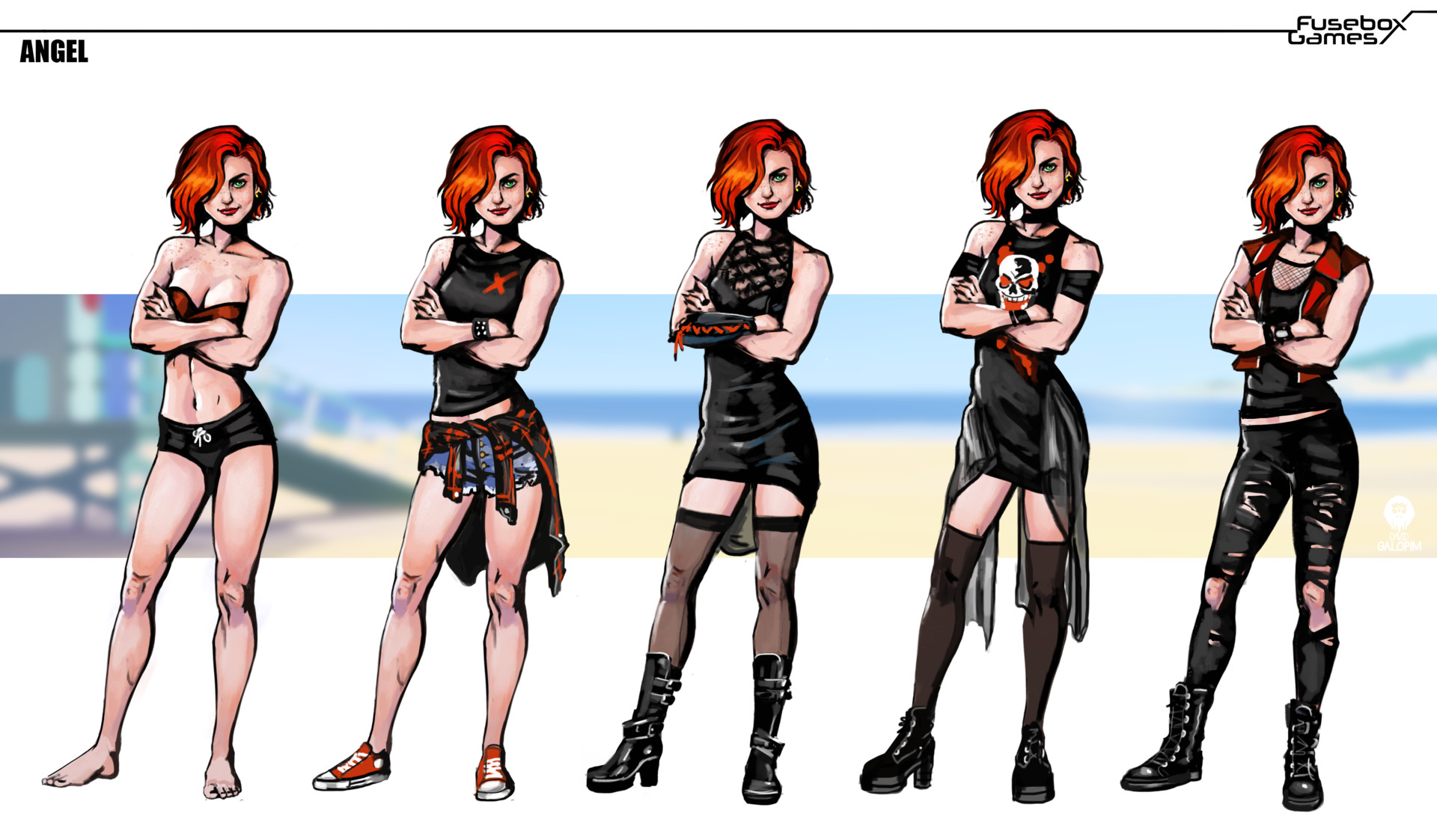 medium resolution of artstation baywatch the game characters david galopim the game fuse box
