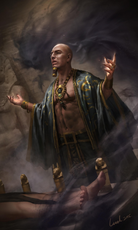ArtStation  Imhotep Li Wenda