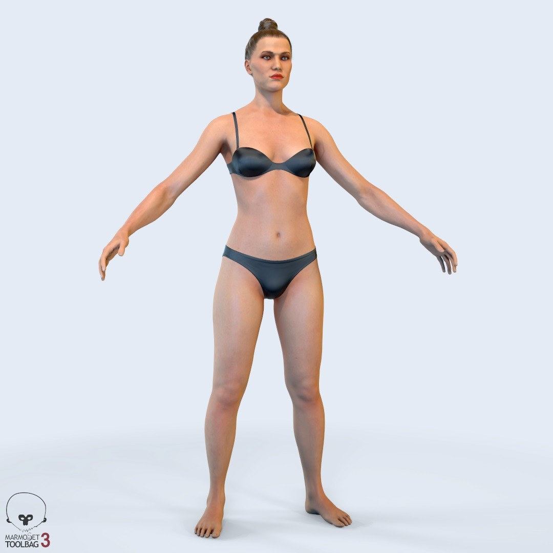 artstation average female body