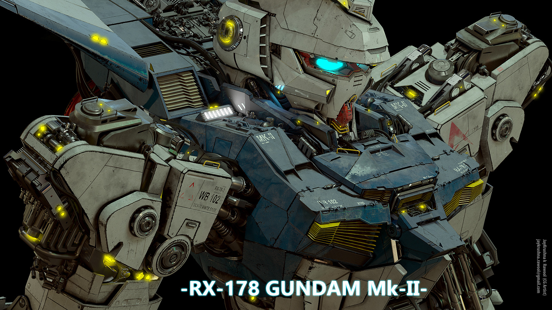 Hd Images For Mobile Wallpaper Artstation Gundam Combat Mobile Suit Custom Build Rx