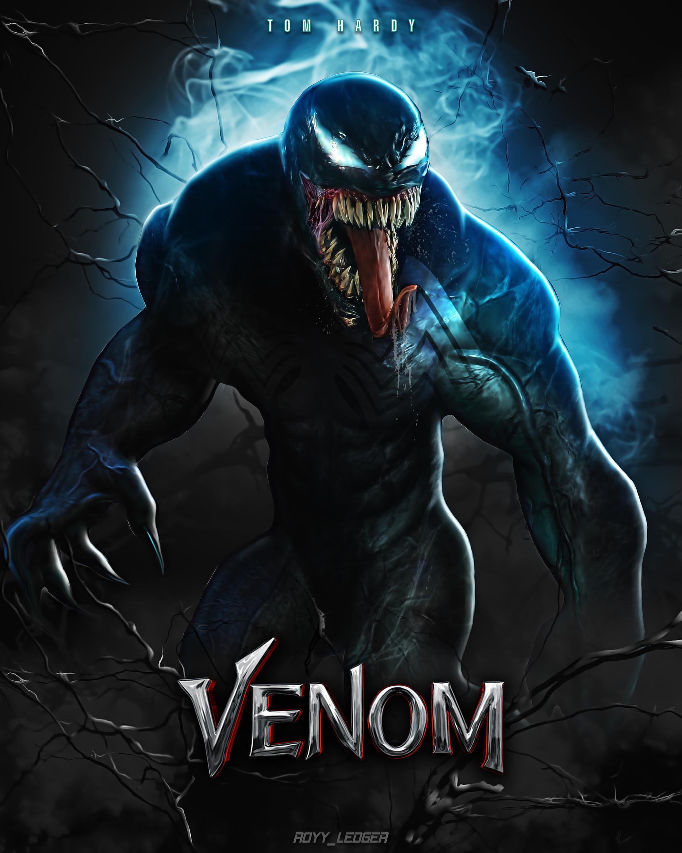 Royy Ledger  Tom Hardy As Venom (2018)fan Art