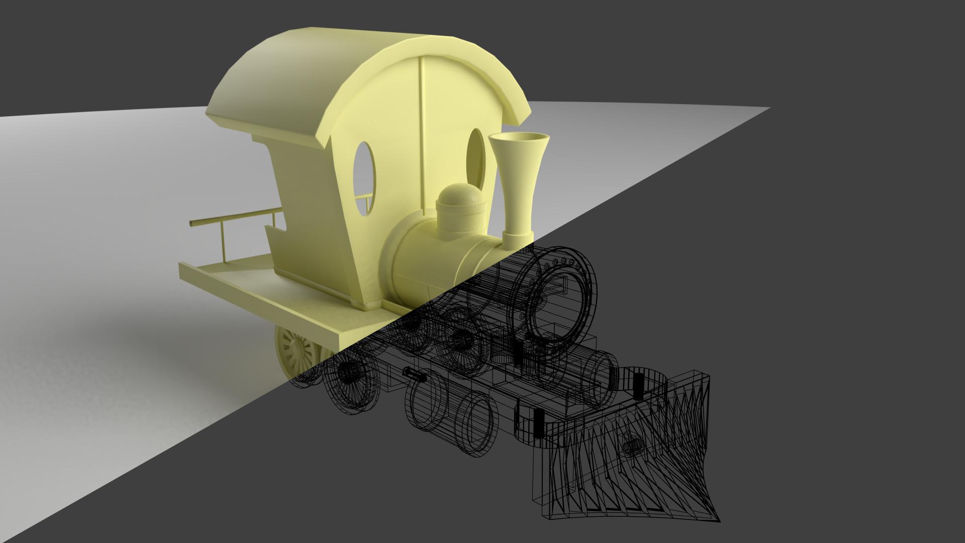 medium resolution of haider ali basic train wire clay