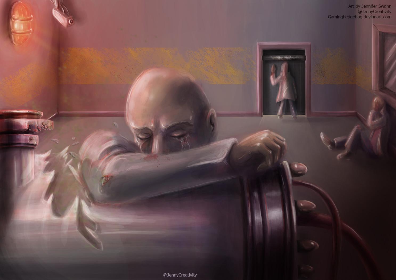 ArtStation  SCP Art SCP008  Zombie Plague Jennifer Swann