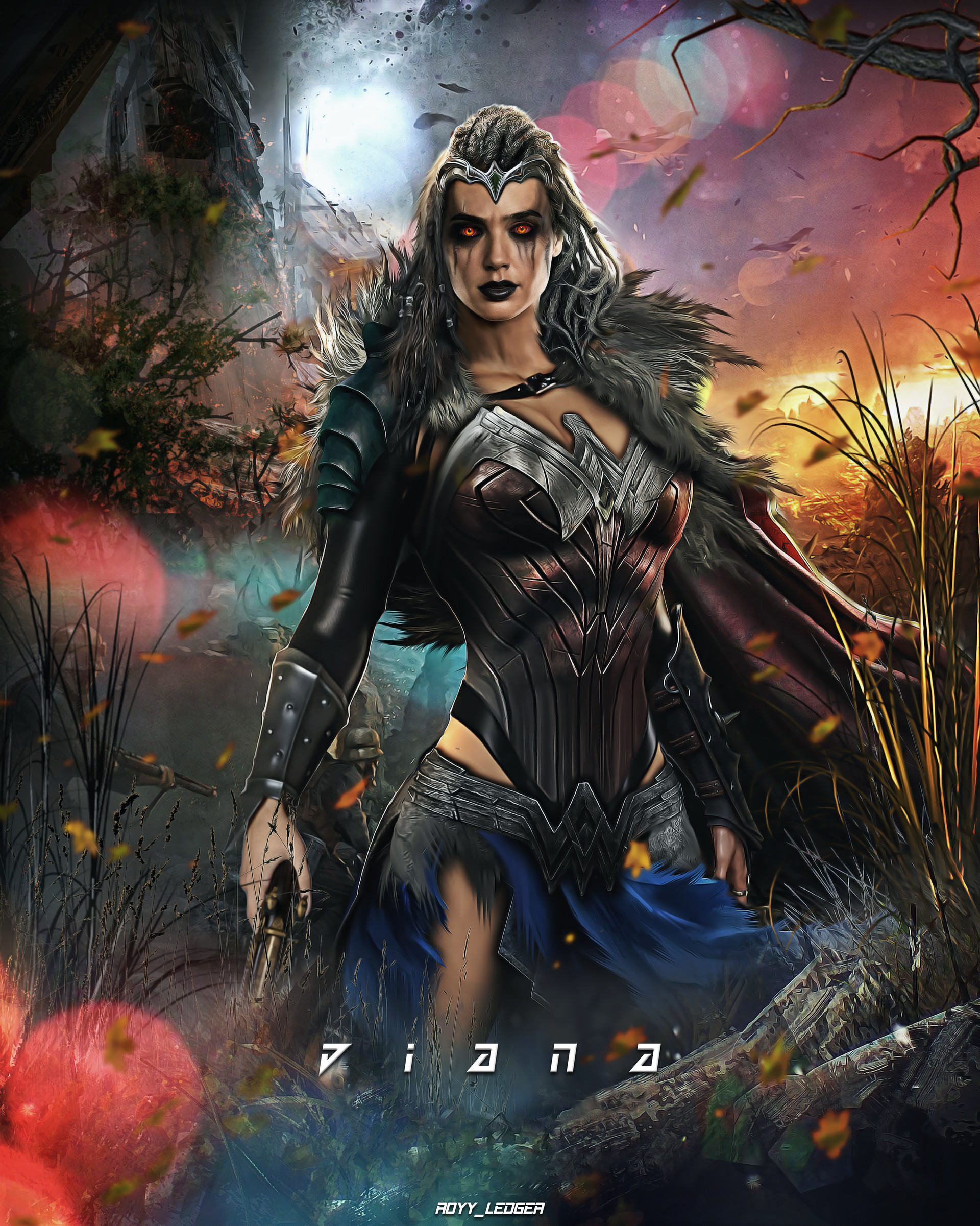 Dark Wonder Woman Fan Art