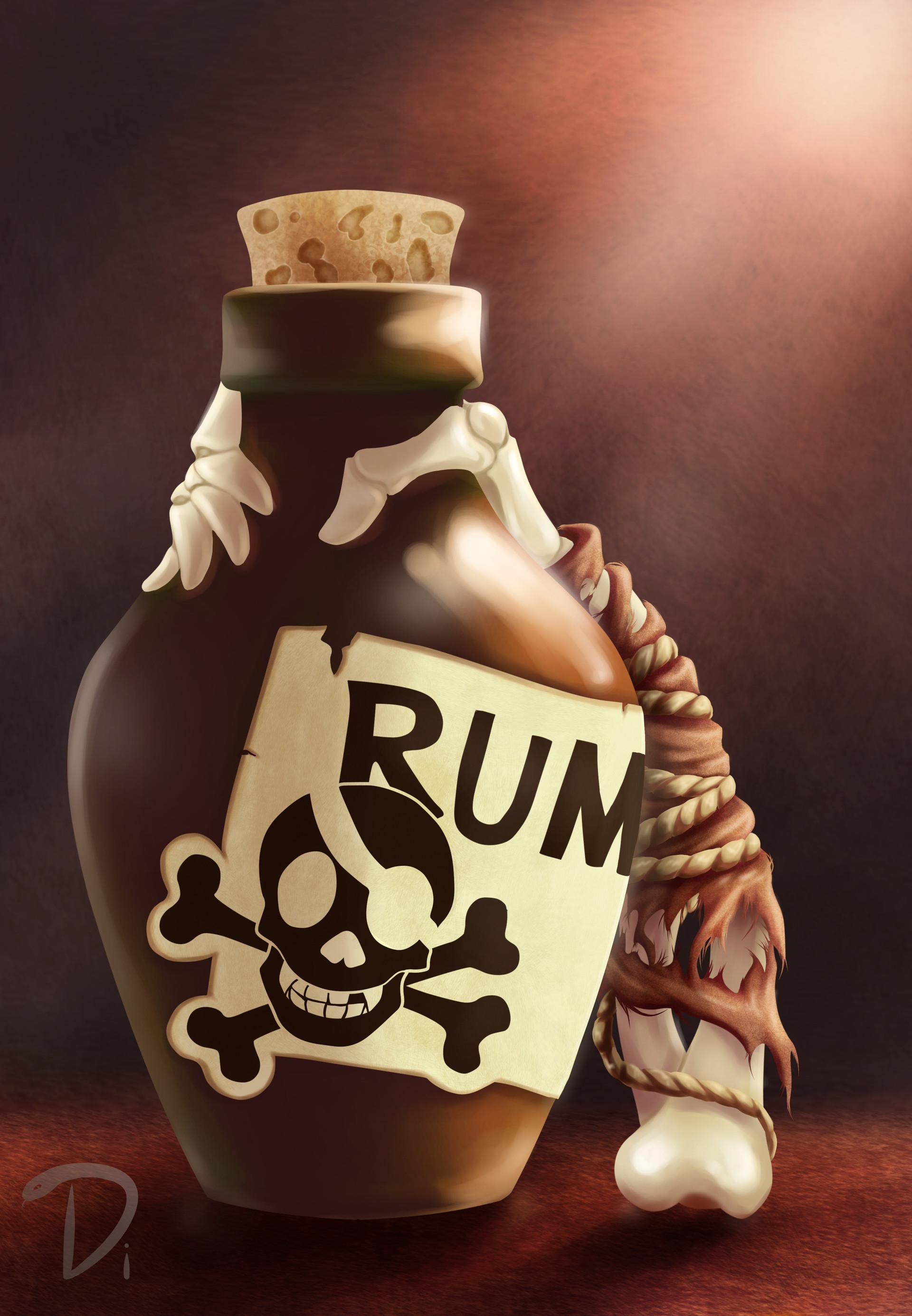 Yo Ho Ho And A Bottle Of Rum : bottle, Nadezhda, Mitkina, Yo-Ho-Ho, Bottle