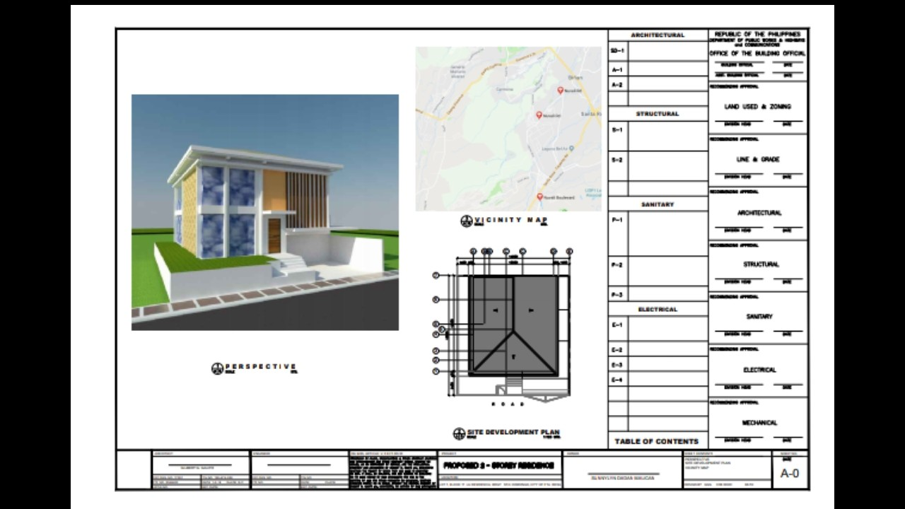 medium resolution of la residencia sta rosa 2 storey residential