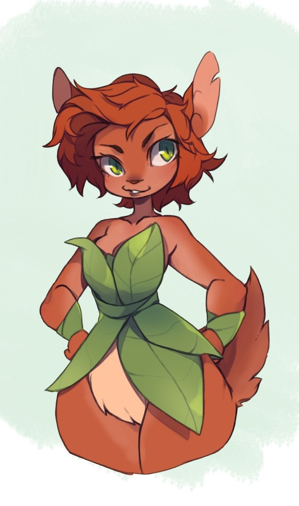 ArtStation  Elora The Faun Puni Paws