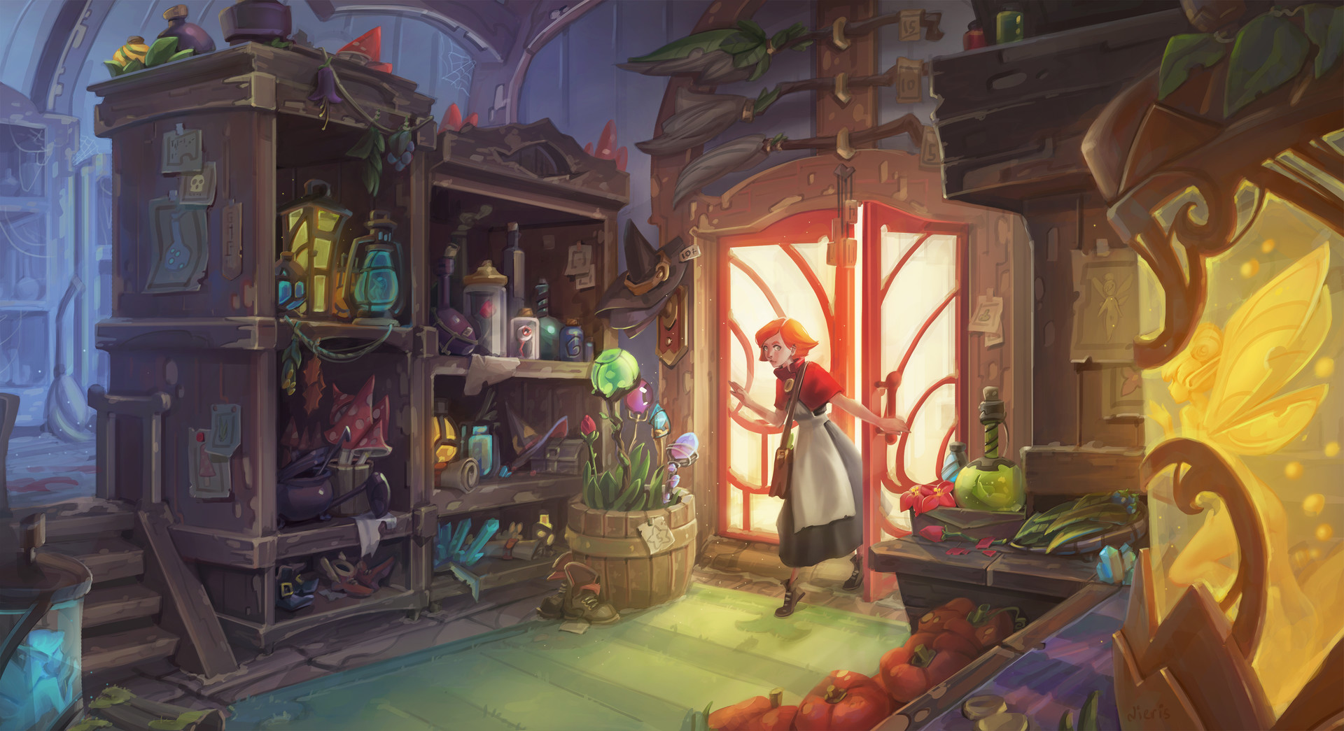 Artstation - Magic Veronika Firsova