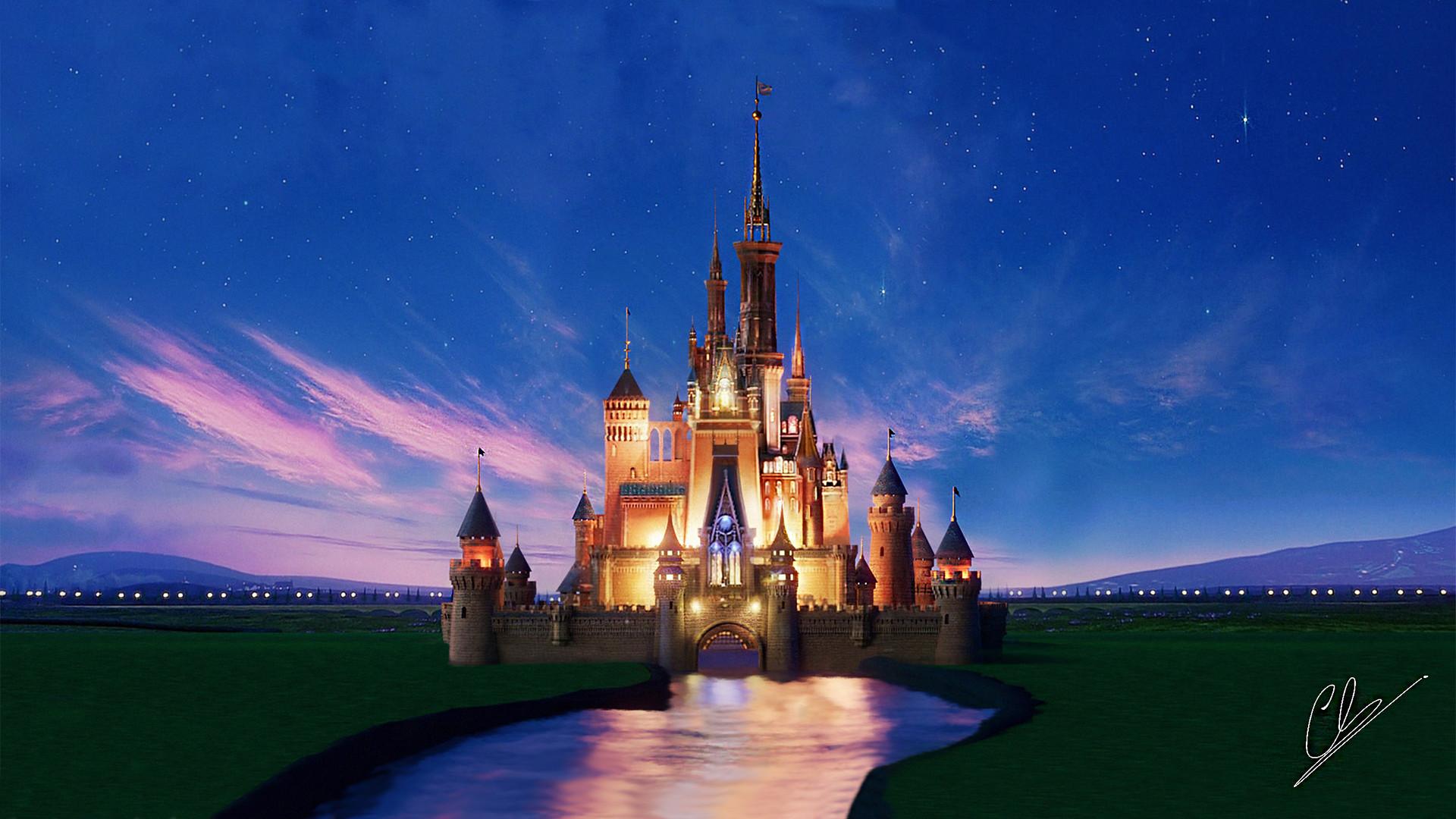 Artstation - Walt Disney Castle Pietro Chiovaro