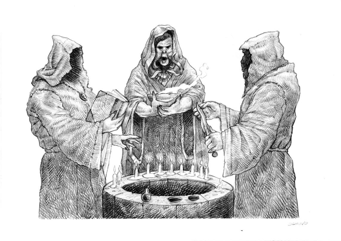 ArtStation - The Necronomicon Gamebook - Dagon, Jacopo Schiavo