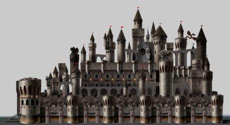 Nana Aramyan Castles Assets for Medieval Fantasy game