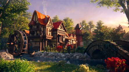 ArtStation Helen s Fantasy Cottage Alan Campos