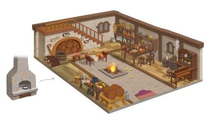 Samita Medieval House Interior & exterior