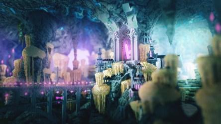 ArtStation The dark elven kingdom of Vanhall Iskillia Dupuy Paolo