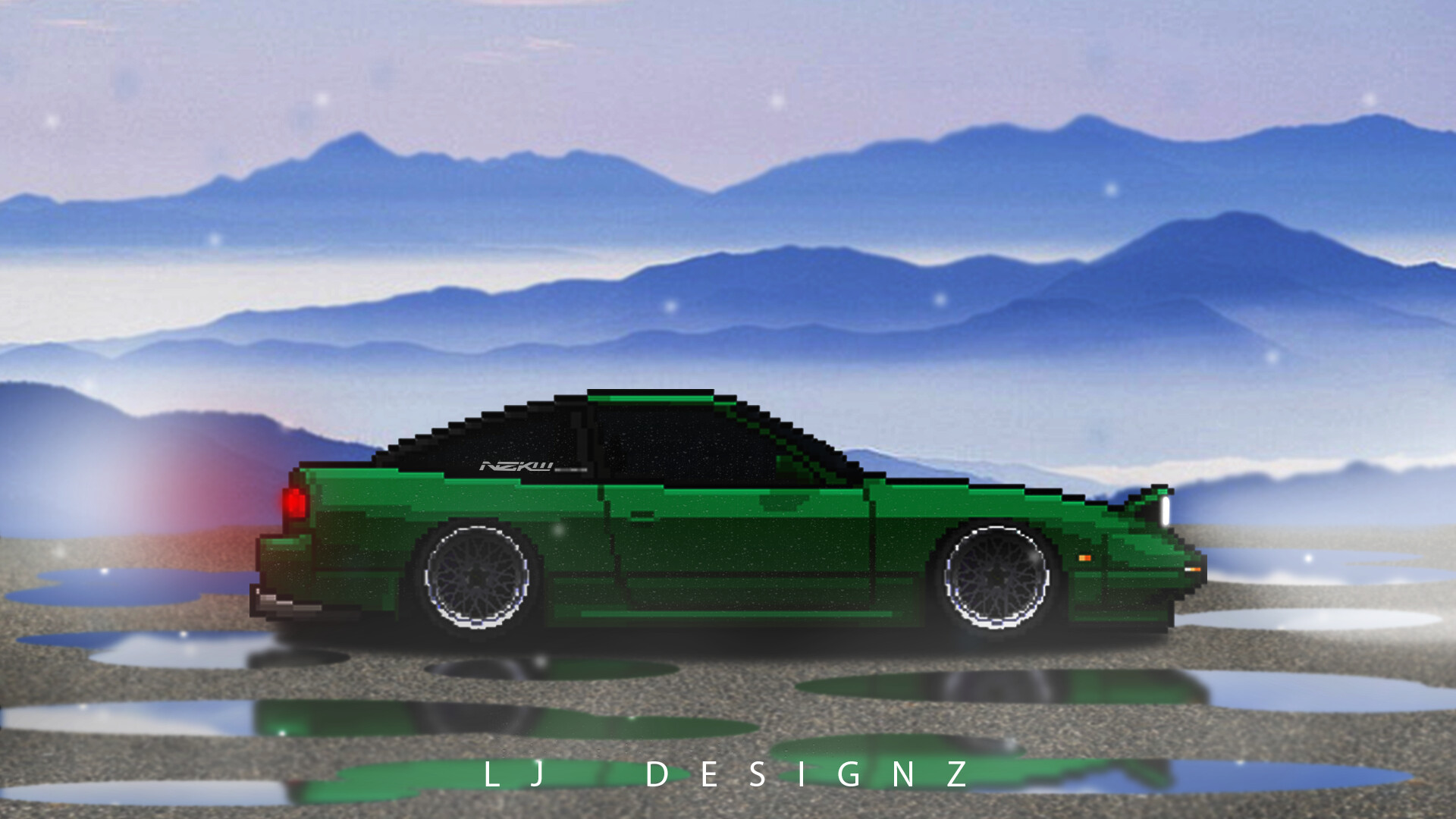 lj designz pixel car