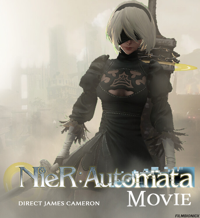 nier automata poster movie film bionicx