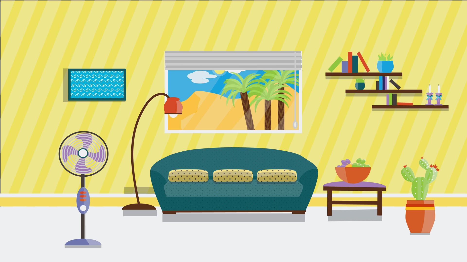 Katia Gaya Kravetz Living Room Background For A Short Video