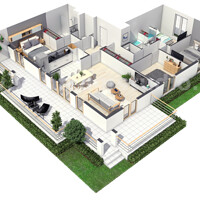 Artstation 4 Bedroom Simple Modern Residential 3d Floor Plan House Design By Architectural Studio Uk Yantram Architectural Design Studio