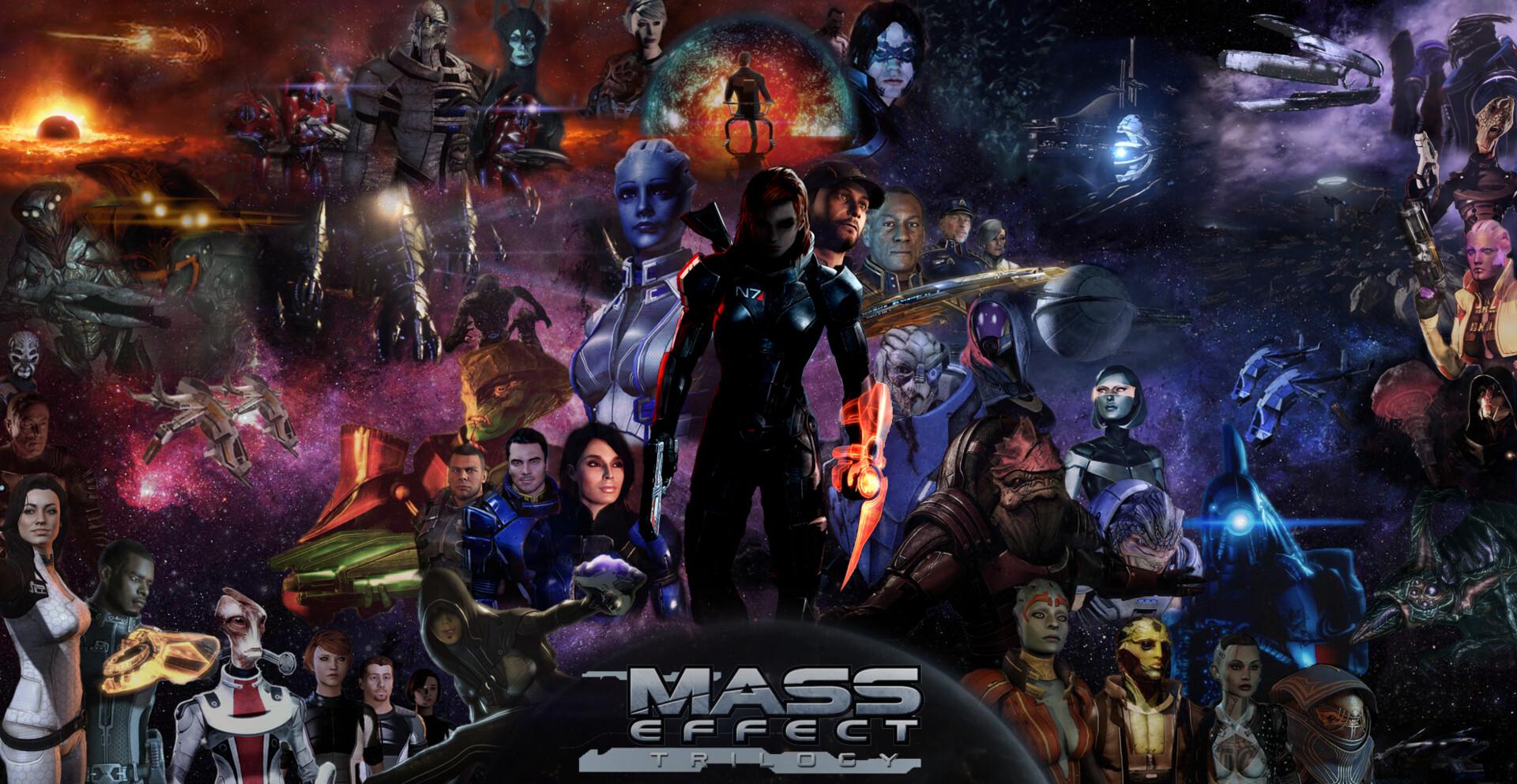 pavol satina mass effect trilogy poster