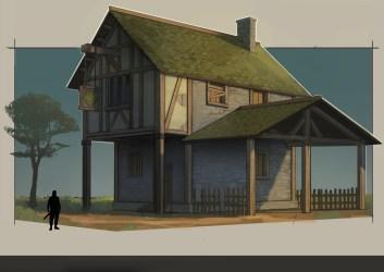 Alberto Muñoz Alaminos Medieval House Design