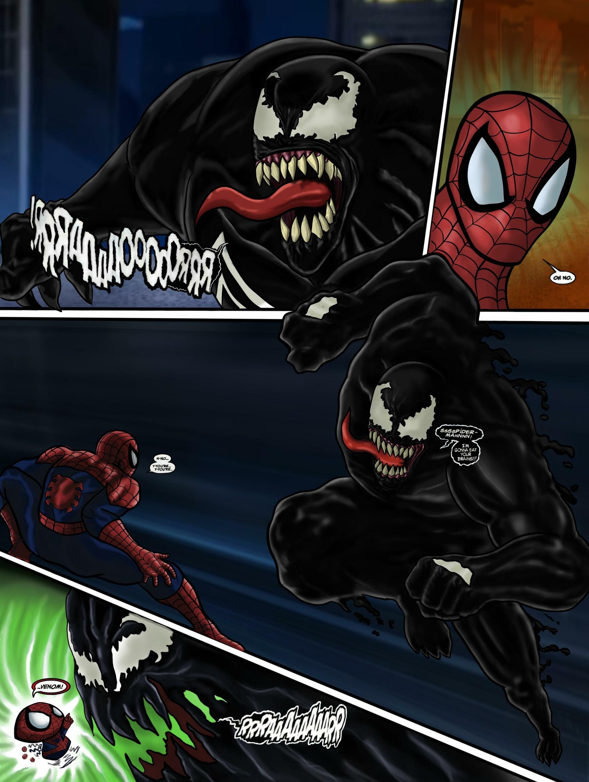 Ultimate Spider-man Venom : ultimate, spider-man, venom, ArtStation, Ultimate, Spiderman, Venom,, Quintas