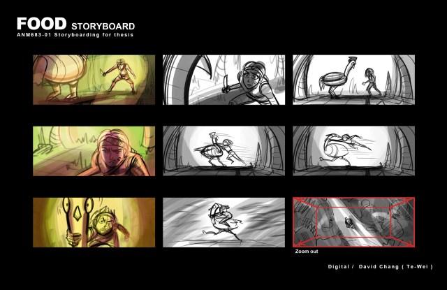 David dream station storyboard 02