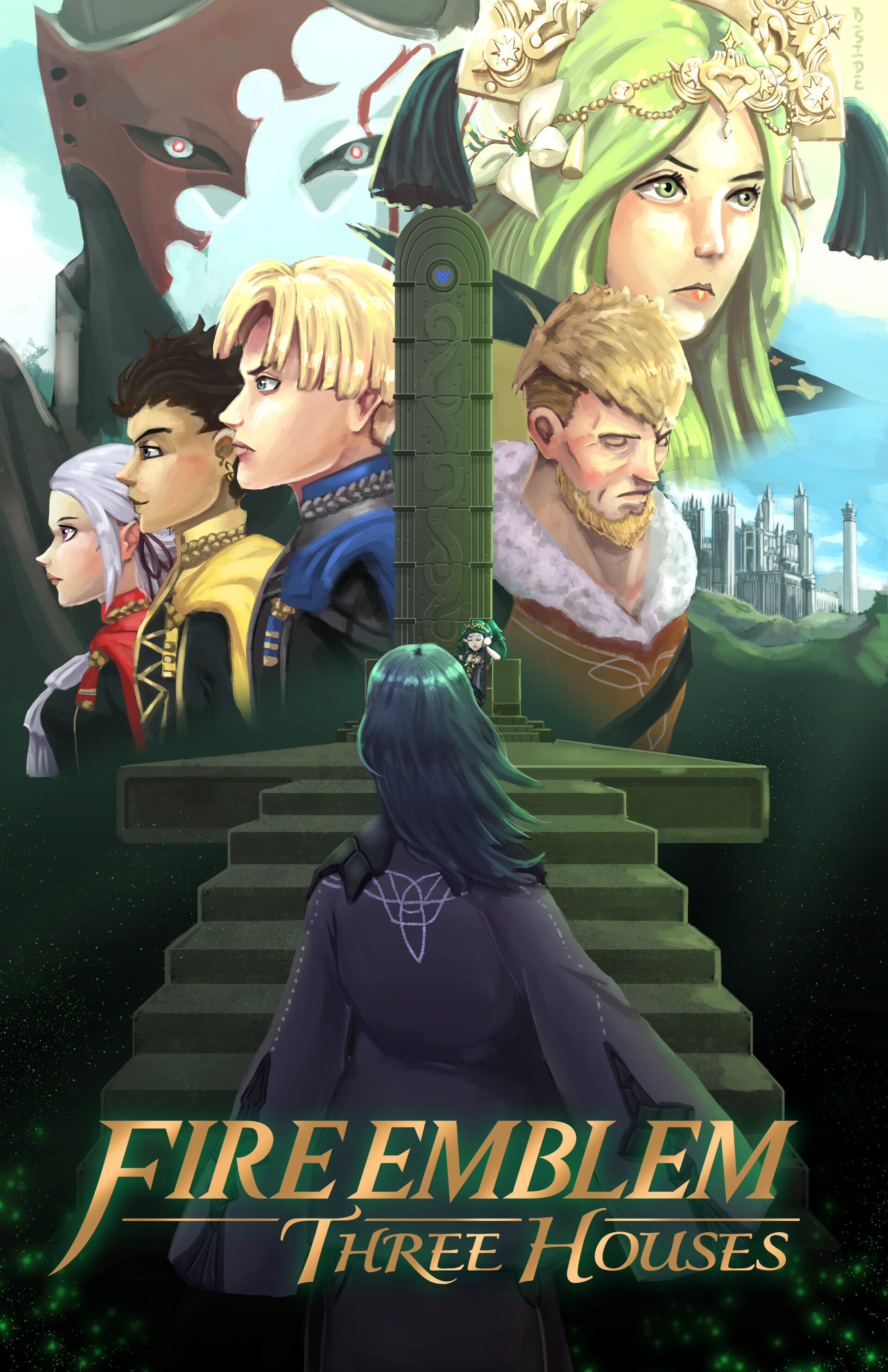 fire emblem three houses posters