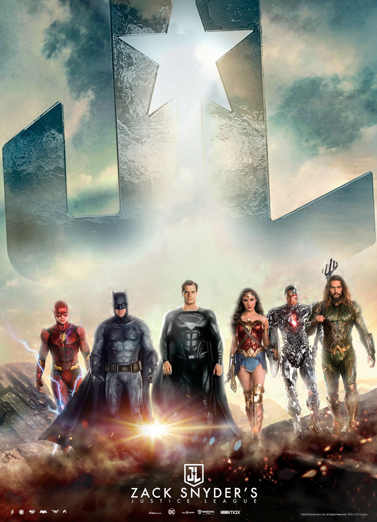 zack snyder s justice league wallpaper