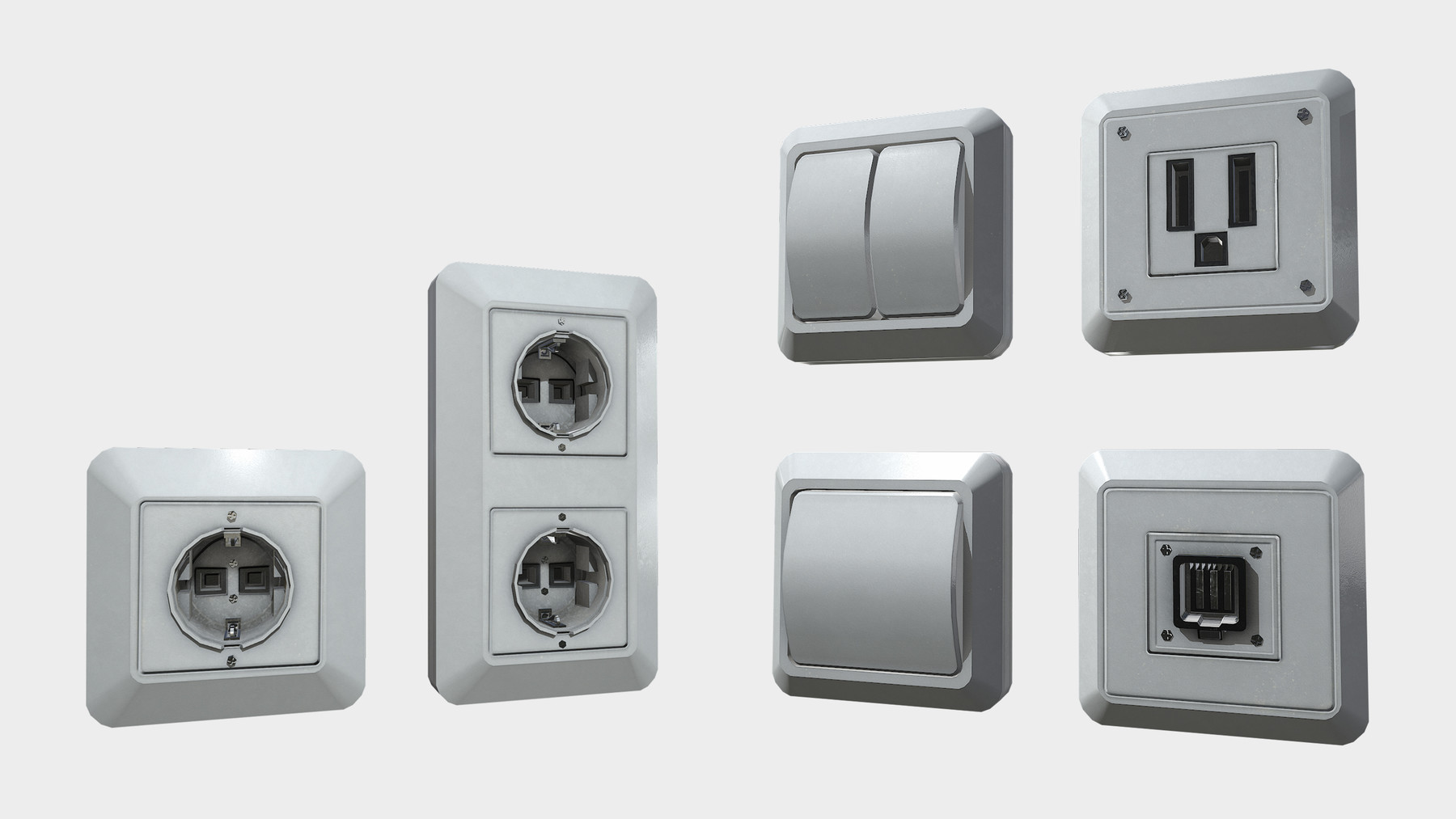 hight resolution of sockets and fuse box pack will help you decorate your interior with a more realistic look