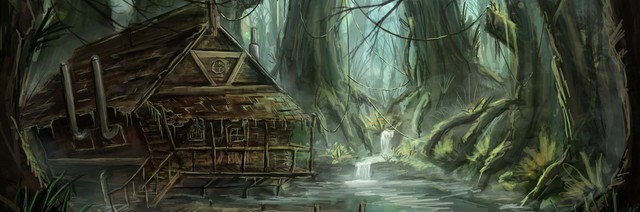 ArtStation Forest Fantasy Village Jerico Cinco