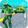 Turtle Hero Ninja Warrior: Tank Attack Game icon