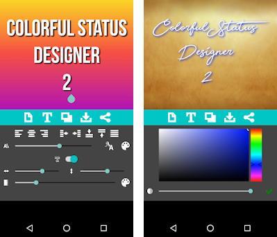 Colorful Status Designer 2 2 13 apk download for Android • com